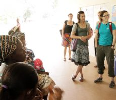 OUR FIRST LONG-TERM VOLUNTEERS ARRIVE IN KAMBIA