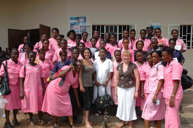 MATERNAL HEALTH TRAINING VISIT TO KAMBIA, MAY 2011