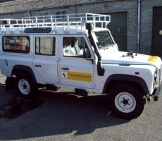 THE KAMBIA APPEAL LAND ROVER HAS ARRIVED IN KAMBIA