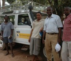 NEW LAND ROVER IN KAMBIA